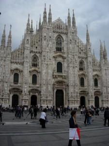 Milanos domkirke, flot ikke?? (foto admin)