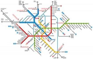 Metroen er ikke så lille som jeg troede