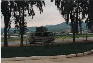 Dolmus, et godt og billigt transportmiddel. Foto admin
