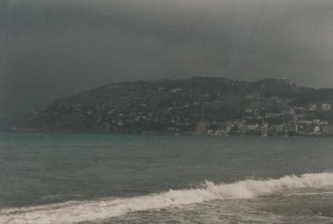 Og så kom uvejret Foto admin