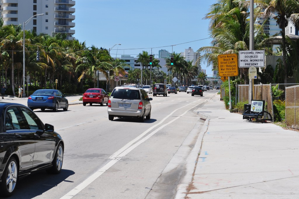 Trafikken kan være tæt (foto admin)