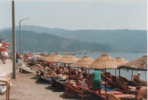 En lille strand i Marmaris (foto admin)