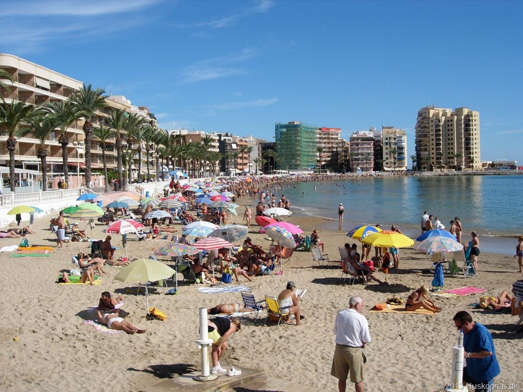 Strand Spanien